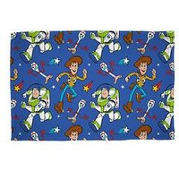 Product photograph showing Toy Story 4 Rescue Fleece Throw