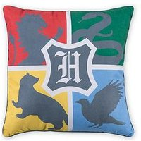 Product photograph showing Harry Potter Alumni Square Cushion