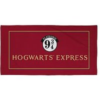 Product photograph showing Harry Potter Hogwarts Express Towel