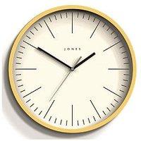 Product photograph showing Jones Clocks Spartacus Wall Clock