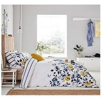 Product photograph showing Joules Galley Grade Floral Duvet Cover