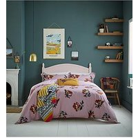 Product photograph showing Joules Heritage Peony Duvet Cover