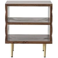 Product photograph showing Hudson Living Kerala Side Table