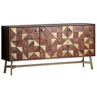 Product photograph showing Hudson Living Tate 3 Door Sideboard