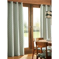 Product photograph showing Orla Kiely House Woven Acorn Cup Eyelet Curtains