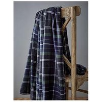 Product photograph showing Catherine Lansfield So Soft Tartan Check Throw