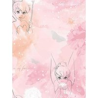 Product photograph showing Disney Tinkerbell Watercolour Wallpaper