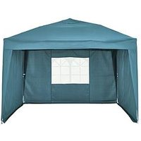 Product photograph showing 3 X 3m Pop Up Gazebo With 3 Piece Side Panels