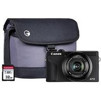 Canon Canon Powershot G7X Mkiii Black Camera Inc Additional