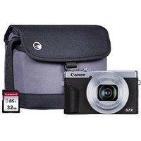 Canon Canon Powershot G7X Mkiii Silver Camera Bundle Inc Add