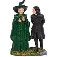 Product photograph showing Harry Potter Professor Snape And Professor Minerva Mcgonagal Figurine New