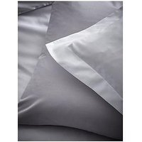 Product photograph showing Content By Terence Conran Modal Standard Pillowcase Pair Ndash Grey