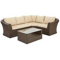 Product photograph showing San Remo Corner Sofa Set