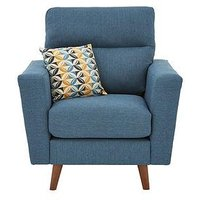 Product photograph showing Sorrento Fabric Armchair