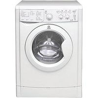 Indesit Iwdc6125 1200 Spin, 6Kg Wash, 4Kg Dry Washer Dryer - White