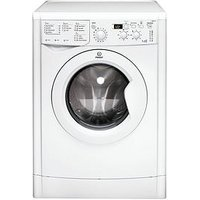 Indesit Iwdd7123 1200 Spin, 7Kg Wash, 5Kg Dry Washer Dryer - White
