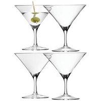 Product photograph showing Lsa International Bar Handmade Martini Glasses Ndash Set Of 4