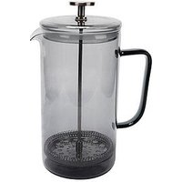 Product photograph showing La Cafetiere Smoke Grey 8-cup Cafeti Egrave Re
