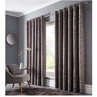 Product photograph showing Studio G Topia Lined Eyelet Curtains