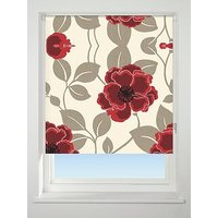 Product photograph showing Papavero Floral Blackout Roller Blind