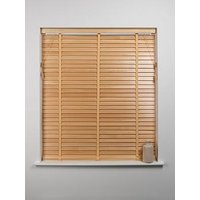 Product photograph showing 50mm Wooden Venetian Blind