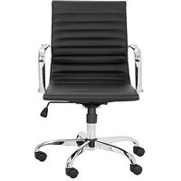 Product photograph showing Julian Bowen Gio Faux Leather Office Chair
