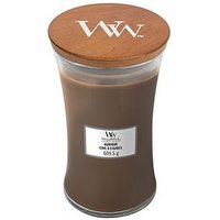 Product photograph showing Woodwick Large Hourglass Candle Ndash Humidor