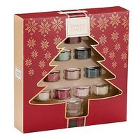 Product photograph showing Yankee Candle 10 Tealights And Holder Gift Set