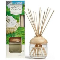 Product photograph showing Yankee Candle Reed Diffuser Ndash Clean Cotton