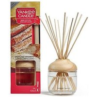 Product photograph showing Yankee Candle Reed Diffuser Ndash Sparkling Cinnamon