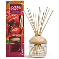 Product photograph showing Yankee Candle Reed Diffuser Ndash Black Cherry