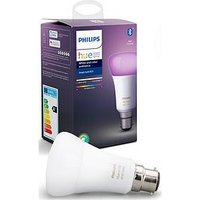 Product photograph showing Philips Hue Bt - White And Colour Ambiance B22 - B22 Twin Pack Bulb