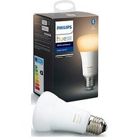 Product photograph showing Philips Hue Bt - White Ambiance E27 - E27 Twin Pack Bulb