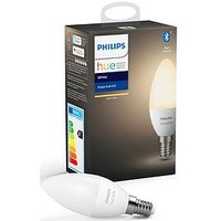 Product photograph showing Philips Hue Bt - White E14 - E14 Twin Pack Bulb