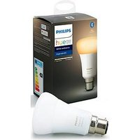Product photograph showing Philips Hue Bt - White Ambiance B22 - B22 Twin Pack Bulb
