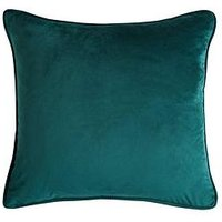 Product photograph showing Velour Cushion Filled
