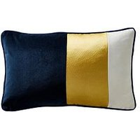Product photograph showing Karen Millen Colour Block Boudoir Cushion