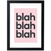 Product photograph showing East End Prints Blah Blah Blah By Gayle Mansfield