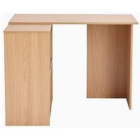 Product photograph showing Home Essentials - Oslo Corner Desk