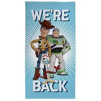 Product photograph showing Toy Story We Rsquo Re Back Towel
