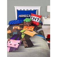 Product photograph showing Minecraft Good Guys Duvet Cover Set