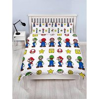 Product photograph showing Mario Stack Duvet Cover Set