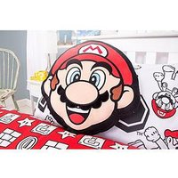 Product photograph showing Mario Shaped Cushion