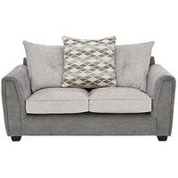Product photograph showing Orson Fabric 2 Seater Sofa