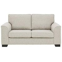 Product photograph showing Caspian Fabric 2 Seater Standard Back Sofa