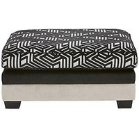 Product photograph showing Atmos Footstool