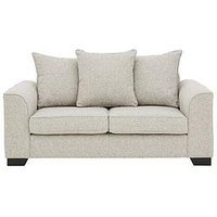 Product photograph showing Caspian Fabric 2 Seater Scatter Back Sofa