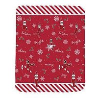 Product photograph showing Elf On The Shelf Christmas Cheer Blanket