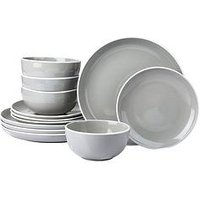 Product photograph showing Waterside Mayfair 12-piece Dinner Service Set