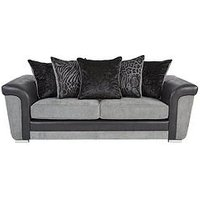 Product photograph showing Manhattan 3 Seater Sofa